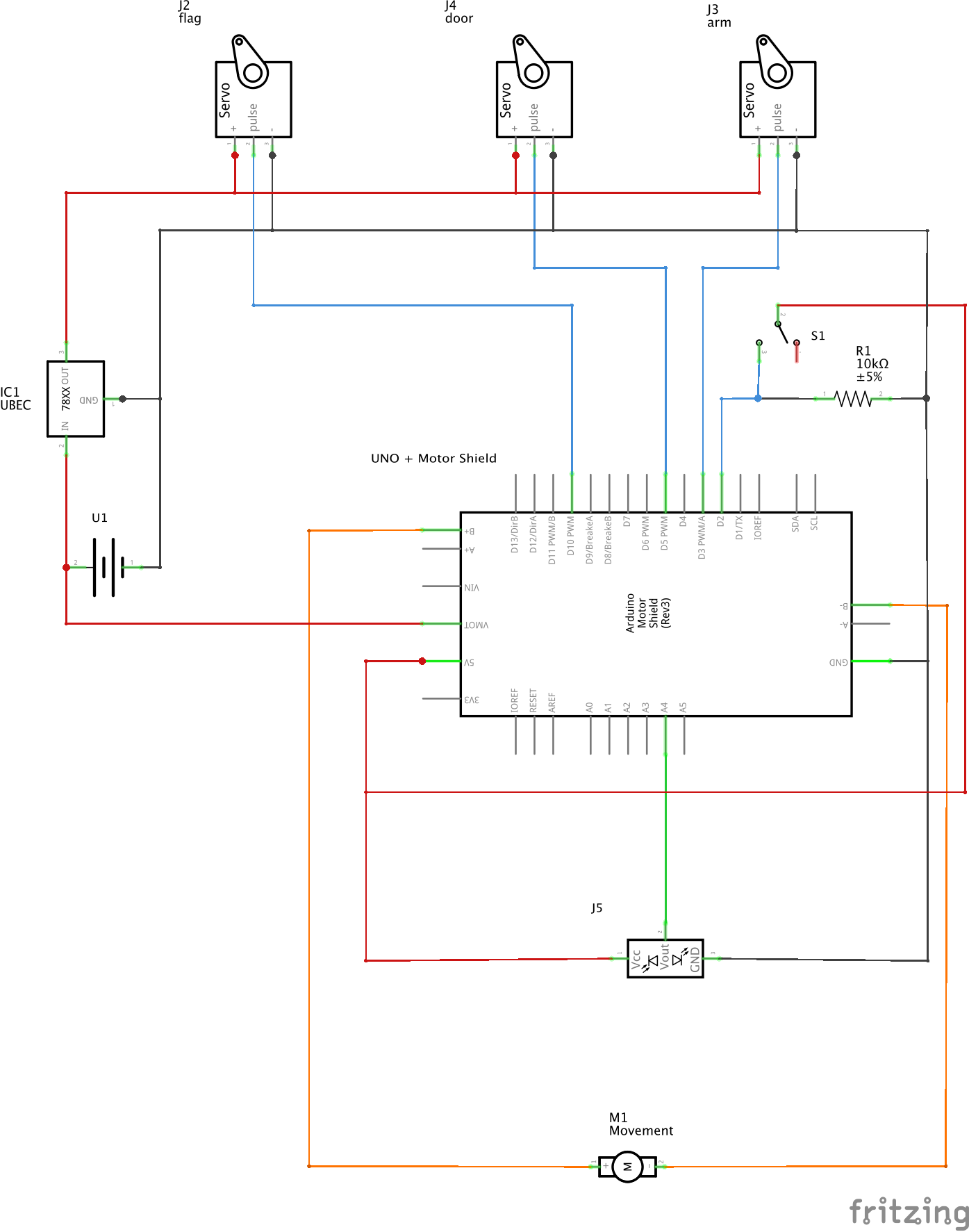 Useless Box By Danielkummer Debounce Circuit Schematic Diagram